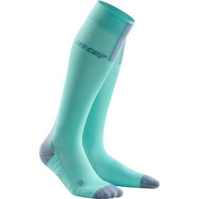 cep Run Socks 3.0 Dames, turquoise/grijs